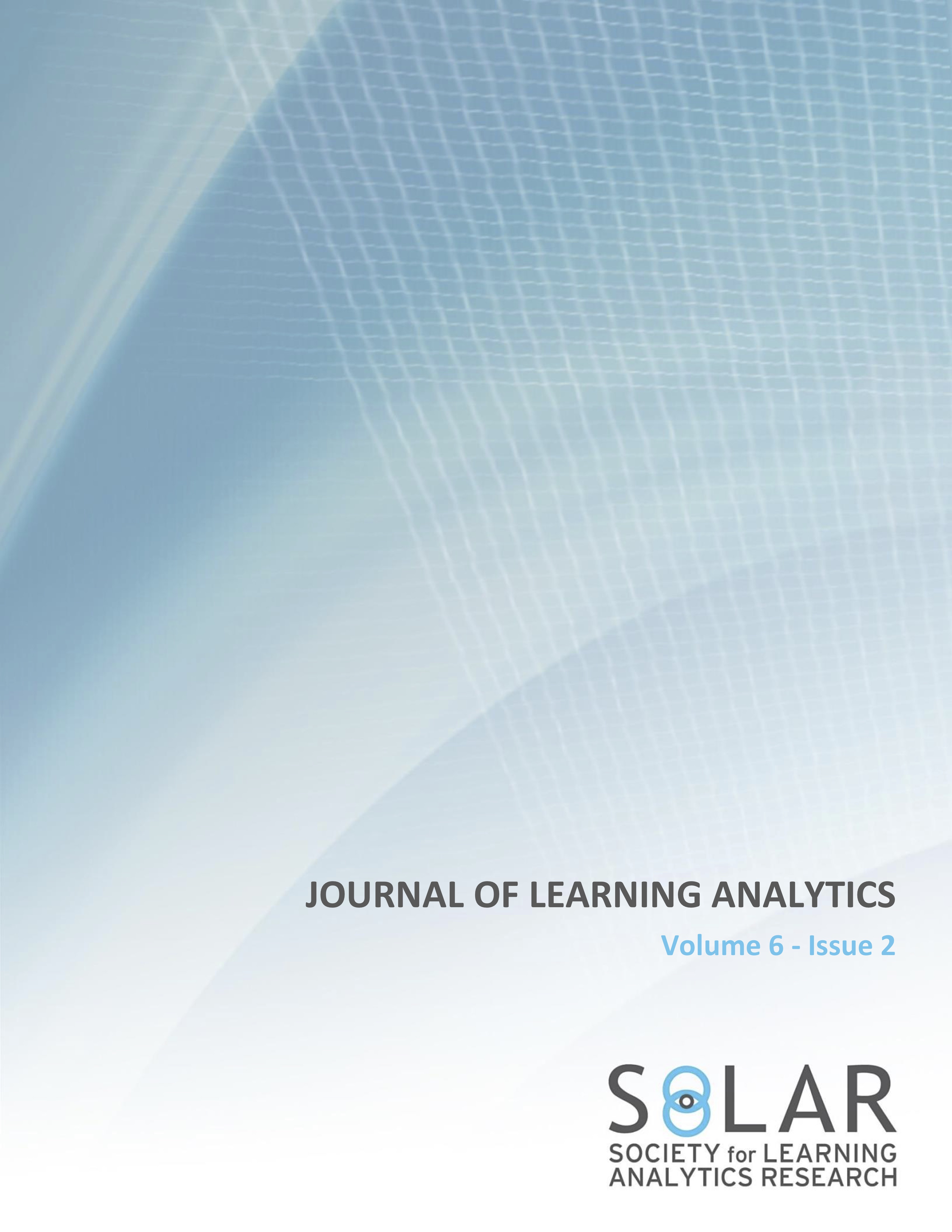 View Vol. 6 No. 2 (2019): Human-Centred Learning Analytics